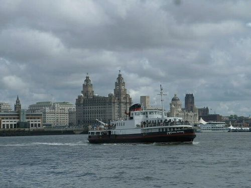 Waterfront view, Liverpool