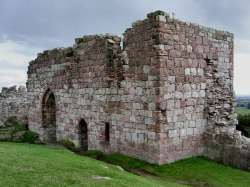 Views across eight counties can be enjoyed from the thirteenth century Beeston Castle.