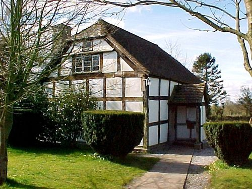 quaker meeting house at Almeley, Herefordshire