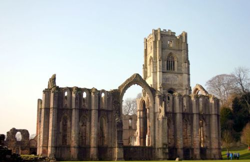 Fountains Abbey Nr. Ripon Nth Yorkshire