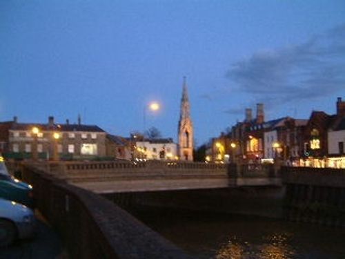 Wisbech at night