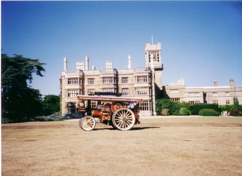 The Bedfordshire Steam and Country Fayre infront of Shuttleworth House
