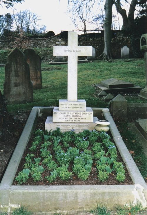 Lewis Carrol's Grave at Mount Cemetery in Guildford