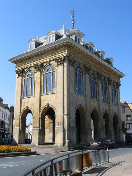 The old town hall, Abingdon, Oxfordshire, now home to Abindon Museum