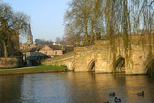 River Wye and bridge at Bakewell