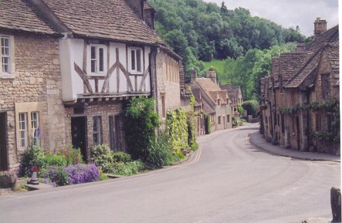 Castle Combe, Wiltshire. One of our favorite villages we try to visit when we come to England