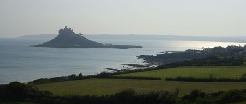 St Michael's Mount, Marazion, Cornwall - April 2004