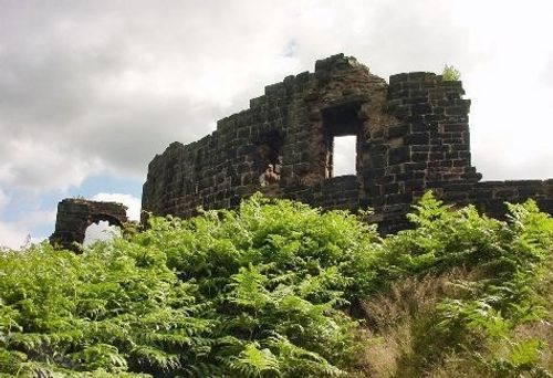 Remains of Halton Castle