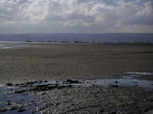 Welsh Hills from West Kirby, Merseyside