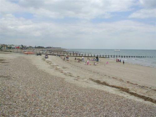 The Beach at Littlehampton