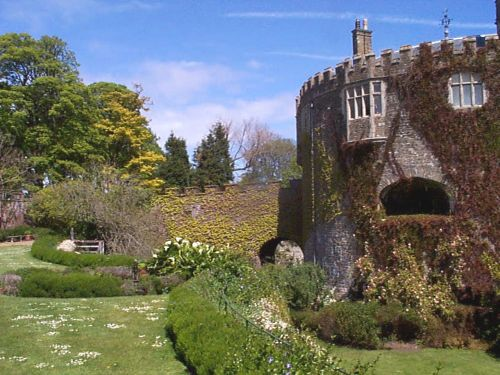 Walmer Castle from gardens