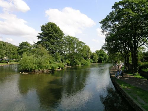 A view from the old bridge, taken on 23 July 04