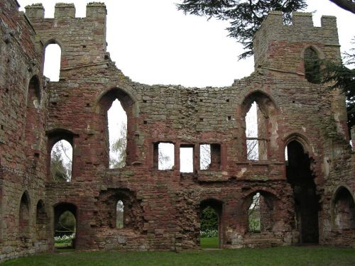 A picture of Acton Burnell Castle