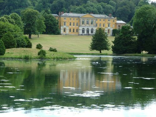 West Wycombe Park - One the most theatrical and Italianate houses in England