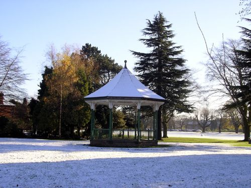 Bandstand in the playclose
