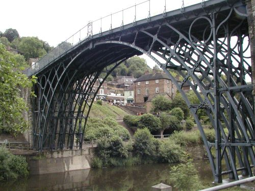 Iron Bridge from the River