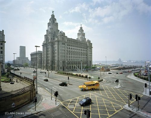 Liver Building in Liverpool, Merseyside