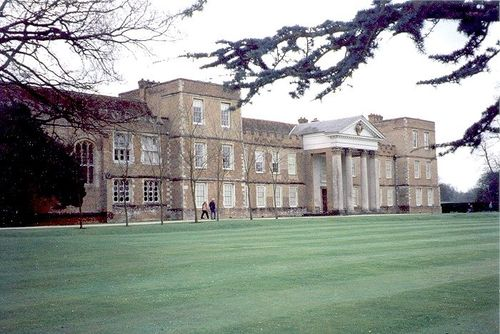 A view of the rear of The Vyne Estate, Basingstoke, Hampshire