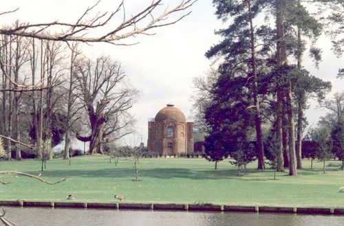 A domed building on The Vyne Estate