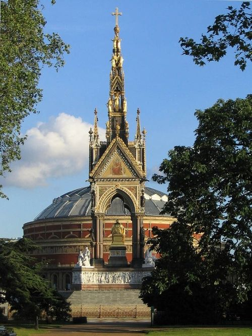 Albert Memorial and Royal Albert Hall, London