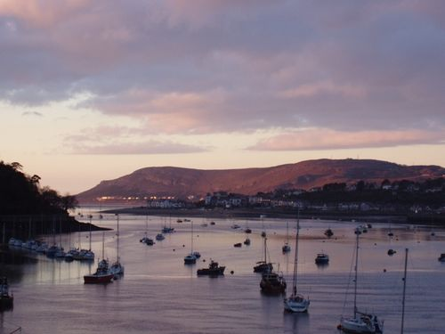 The Harbour at Conwy, Gwnedd