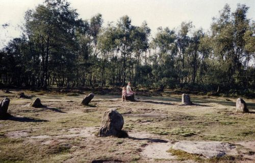 Nine Ladies Stone Circle, Stanton Moor, the Peak District