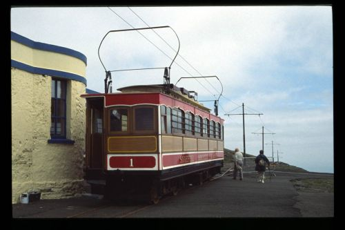 Summit Station on the Snaefell Mountain Railway