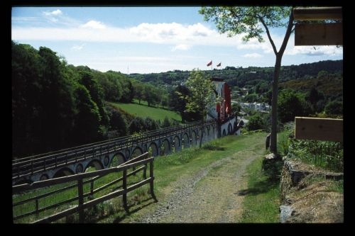 The Lady Isobella (Laxey Wheel) from the rear