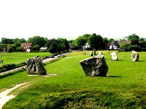 Stone Circle at Avebury, known as the Avebury Ring