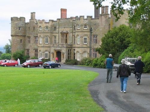 Croft Castle approach