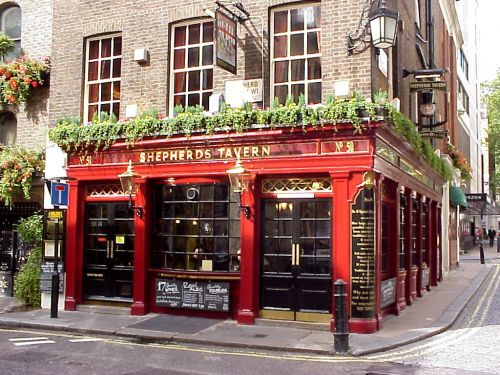 Shepherds Tavern, Mayfair