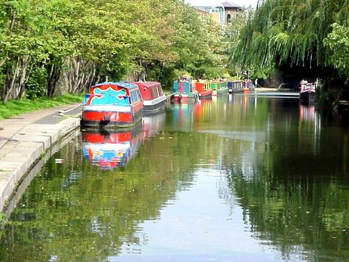 House Boats, Regents Canal, Camden Town