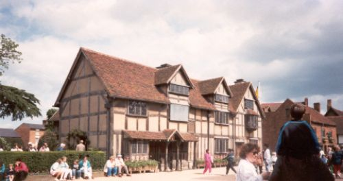 Birthplace of Shakespeare, Stratford-upon-Avon, Warwickshire