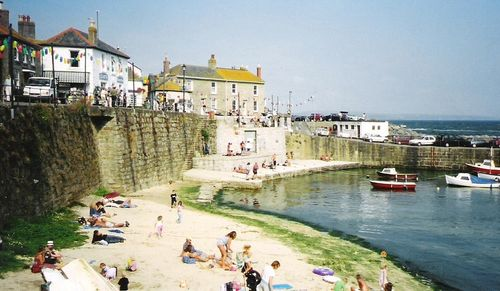 Mousehole, in Cornwall