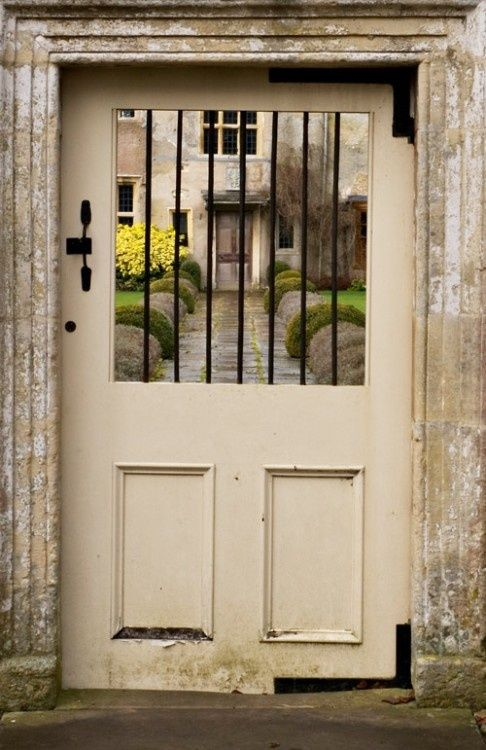 Entrance to Avebury Manor, Wiltshire