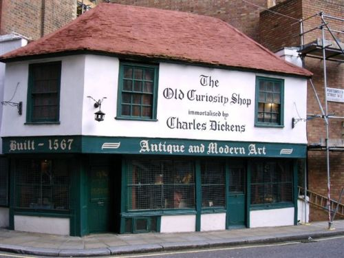 Pictures Of The Old Curiosity Shop London - Old map shop london