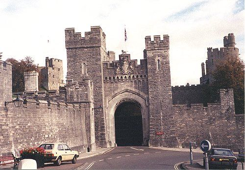 Street Entrance to Arundel Castle