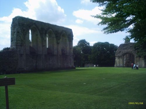 Glastonbury Abbey, Somerset