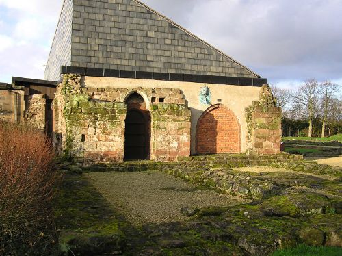 Rear of Norton Priory, Cheshire