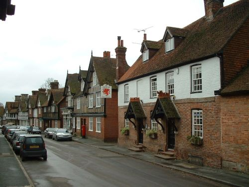 Fletching village, East Sussex
