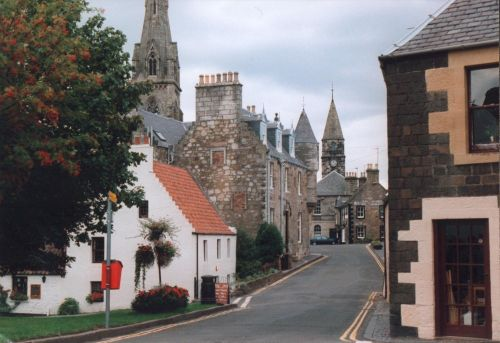 The Picture Postcard Village of Falkland Fifeshire Scotland
