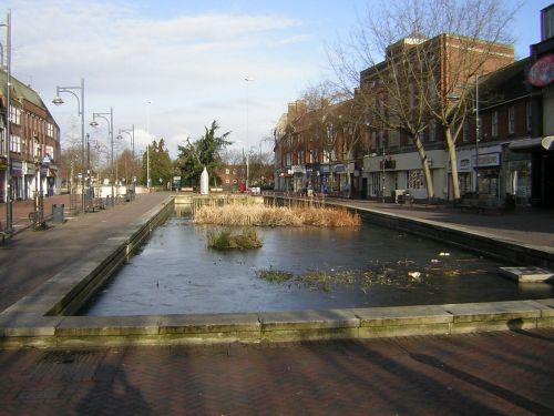 'The Pond', Watford High Street, Herts