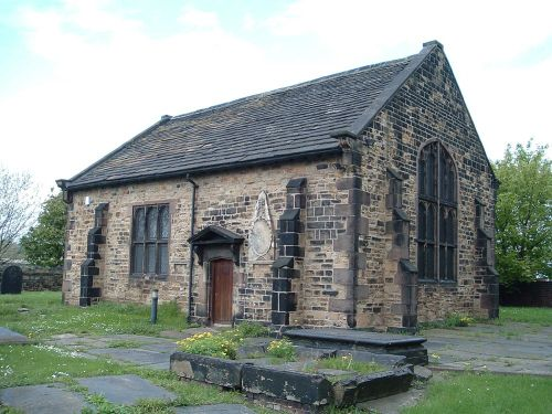Hilltop Chapel, built 1629, Attercliffe Common, Attercliffe, Sheffield