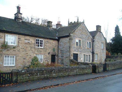 The Plague Cottages, Eyam, Derbyshire