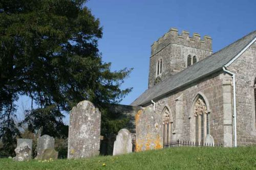 St. Peters Church at Zeal Monachorum, Devon
