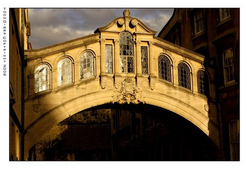Bridge of Sighs, Hereford College, Oxford