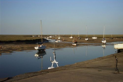 Tide out at Blakeney, Norfolk