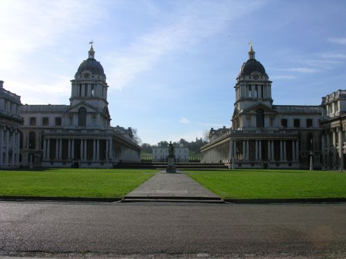 Greenwich Royal Palace, Greenwich, Greater London. Spring 2005