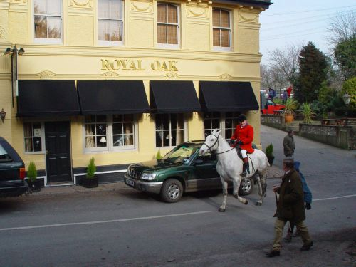 The Hunt at the Royal Oak, Poynings, West Sussex