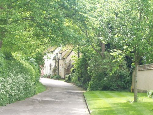 A row of cottages, Ashwell, Hertfordshire